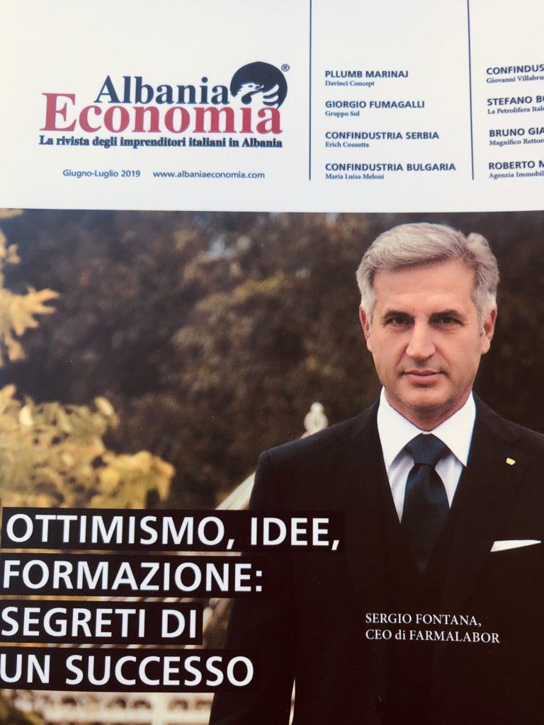Ottimismo, idee, formazione: segreti di un successo. Sergio Fontana, CEO di Farmalabor.
