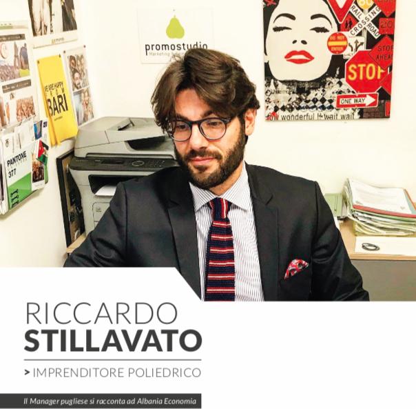 Riccardo Stillavato, l'imprenditore poliedrico