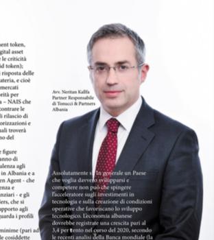 Tonucci & Partners Albania dà vita al desk dedicato alla Blockchain & Distributed Ledger.