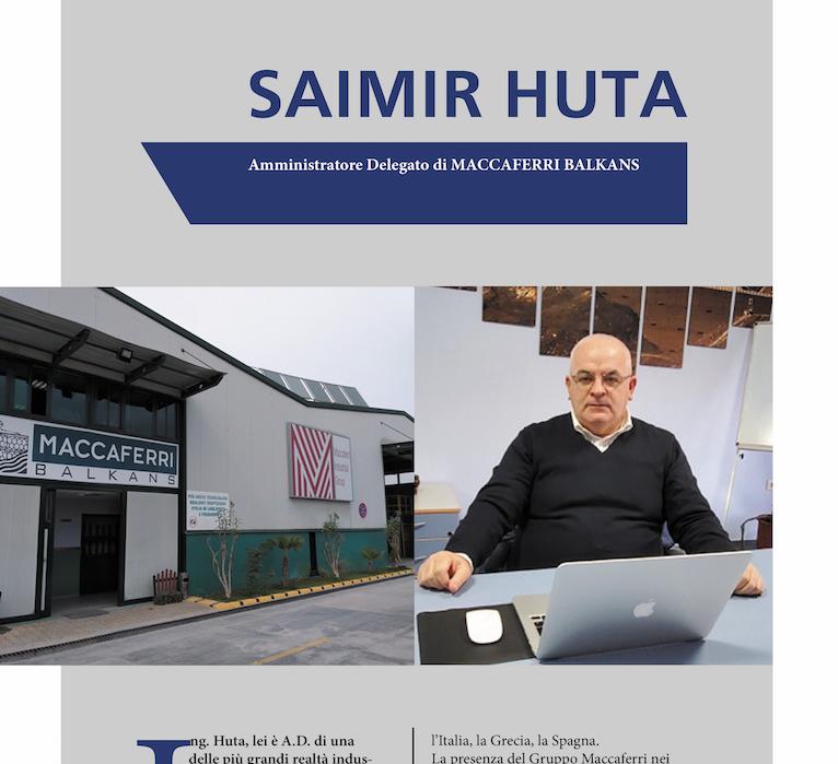Maccaferri Balkans. L'intervista all'Amministratore Delegato, l'Ing. Saimir Huta.